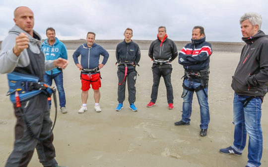 Stage de kite surf I Flyandview